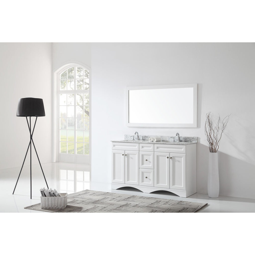 "Virtu USA Talisa 60"" Double Bathroom Vanity Cabinet ED-25060-CAB"