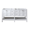 "Image of Virtu USA Winterfell 72"" Double Bathroom Vanity Cabinet ED-30072-CAB"