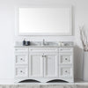 "Image of Virtu USA Talisa 60"" Single Bathroom Vanity Set ES-25060-WMRO"