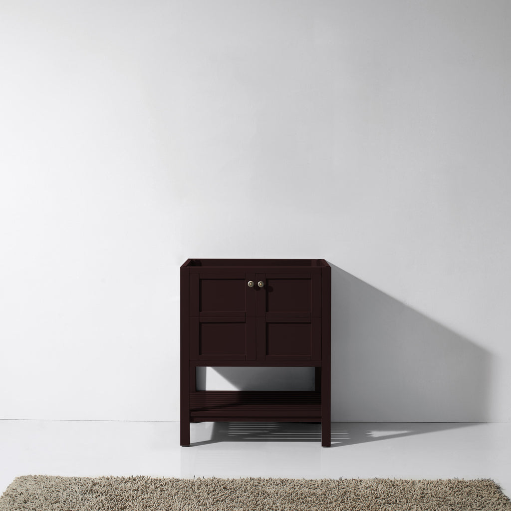 "Virtu USA Winterfell 30"" Single Bathroom Vanity Cabinet ES-30030-CAB"