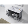 "Image of Virtu USA Winterfell 48"" Single Bathroom Vanity Set ES-30048-WMSQ"