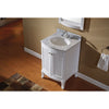 "Image of Virtu USA Khaleesi 24"" Single Bathroom Vanity Set ES-52024-WMRO"
