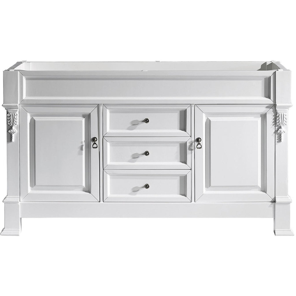 "Virtu USA Huntshire 60"" Single/Double Bathroom Vanity Cabinet GD-4060-CAB"