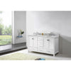 "Image of Virtu USA Caroline Avenue 60"" Double Bathroom Vanity Set GD-50060-WMRO"