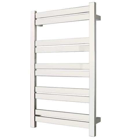 WarmlyYours Grande 10 Bars Polished Hardwired Towel Warmer TWS6-GRD10PH