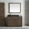"Image of Legion Furniture 48"" Wood Vanity in Brown with Marble WH5148 Top, No Faucet WH8348"