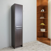 "Image of Eviva Lugano 16"" Rosewood Freestanding Modern Bathroom Linen Side Cabinet EVCB1600-16RSWD"