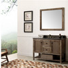 "Image of Legion Furniture 48"" Solid Wood Vanity in Brown with Moon Stone Top, No Faucet WH5148-BR"