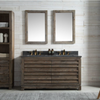 "Image of Legion Furniture 60"" Wood Vanity in Brown w/Marble WH5160 Top, No Faucet WH8460"