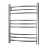 Image of WarmlyYours Riviera Polished Stainless Hardwired Towel Warmer TW-R09PS-HW