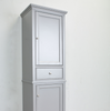 "Image of Eviva Elite Stamford 24"" Gray Freestanding Linen Side Cabinet EVCB709-24GR"