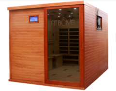 Image of LUXSauna STUDIO  FITBOMB FITNESS FAR INFRARED SAUNAS
