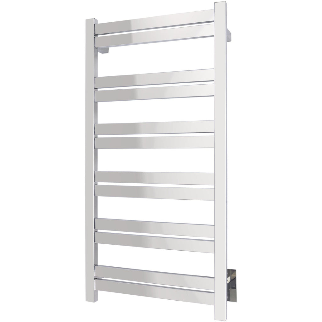 WarmlyYours Grande 12 Bars Polished Hardwired Towel Warmer TWS6-GRD12PH