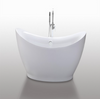 "Image of Legion Furniture 67.3"" White Acrylic Tub, No Faucet  WE6513"