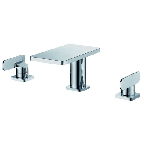 ALFI Brand Two-Handle 8 Inch Widespread Bathroom Faucet AB1884