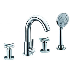 ALFI Brand with Hand Held Showerhead Deck Mounted Tub Filler AB2503