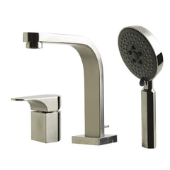 ALFI Brand Single Lever Faucet Round Hand Held Pull-Out Shower Head AB2703