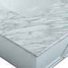 Image of Eviva Acclaim 30″ White Transitional Bathroom Vanity w/ White Carrara Top  EVVN69-30WH