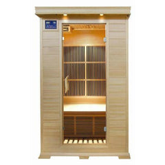 Sunray Sierra 2 Person Hemlock Infrared Sauna w/Ceramic Heaters HL200C