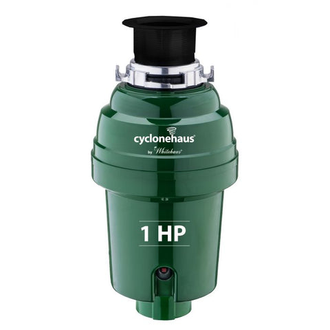 Whitehaus High Effciency with Brass Flange and Quiet Operation Garbage Disposal WH007-BN