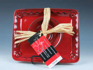 Small Square Plate & Bowl Set