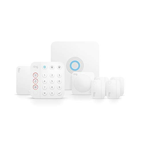 Ring Alarm 8-piece kit (2nd Gen) – home security system with optional 24/7 professional monitoring – Works with Alexa