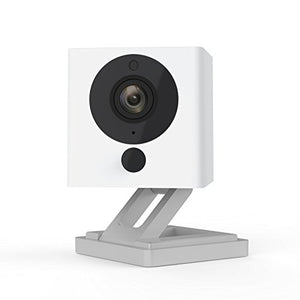 Smart Home Camera with Night Vision, 2-Way Audio, Works with Alexa & the Google Assistant
