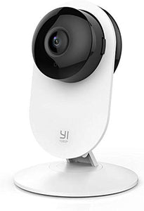 Indoor IP Security Surveillance System with Night Vision, AI Human Detection, Activity Zone, Phone/PC App, Cloud Service - Works with Alexa