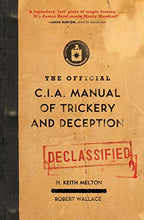 Load image into Gallery viewer, The Official CIA Manual of Trickery and Deception