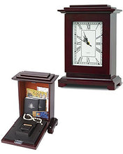 Load image into Gallery viewer, Mantle Clock Safe Concealment Hidden Storage Compartment