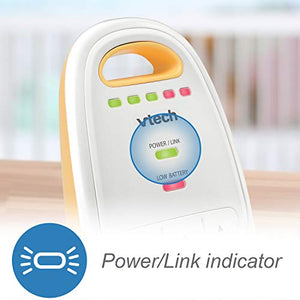 Audio Baby Monitor with up to 1,000 ft of Range, 5-Level Sound Indicator