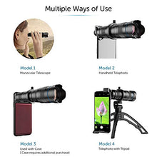 Load image into Gallery viewer, High Power 36x HD Telephoto Lens with Tripod for smart phones
