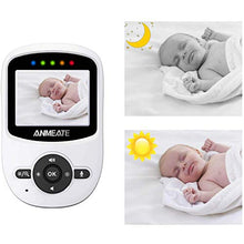 Load image into Gallery viewer, Video Baby Monitor with Digital Camera bwith Temperature Monitor, 960ft Transmission Range, 2-Way Talk, Night Vision