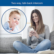 Load image into Gallery viewer, Baby Monitor with up to 1,000 ft of Range, Vibrating Sound-Alert, Talk Back Intercom & Night Light Loop