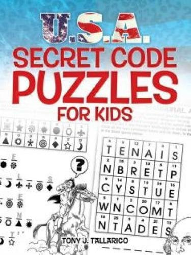 U.S.A. Secret Code Puzzles for Kids