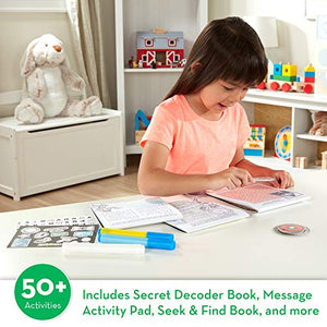 On the Go Secret Decoder Deluxe Activity Set