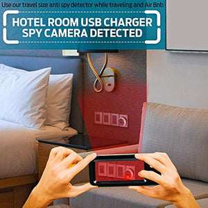 Hidden Camera Detector with Extra-Large Panoramic Viewer