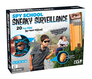 Spy School Sneaky Surveillance - 11 Pieces