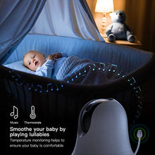 Load image into Gallery viewer, Video Baby Monitor with Remote Camera Pan-Tilt-Zoom