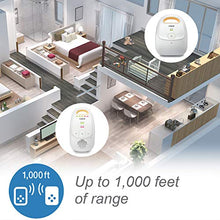 Load image into Gallery viewer, Audio Baby Monitor with up to 1,000 ft of Range, 5-Level Sound Indicator