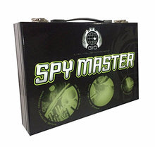 Load image into Gallery viewer, Spy Master Briefcase Black Spy kit - Secret agent mission handbook with top spy gear and gadget surveillance