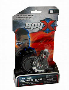 SpyX / Micro Super Ear - Spy Toy Listening Device with Over-the-Ear Design.