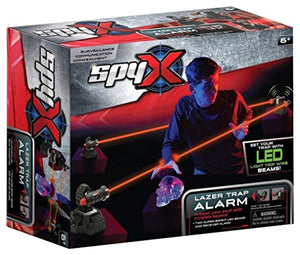 SpyX / Lazer Trap Alarm - Invisible Beam Barrier + Alarm Spy Toy to Protect Your Stuff!