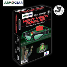 Load image into Gallery viewer, ArmoGear Kids Night Vision Goggles with Built-in LED Headlight