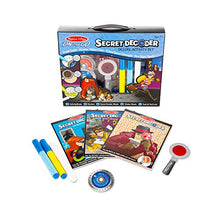 Load image into Gallery viewer, On the Go Secret Decoder Deluxe Activity Set