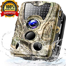 Load image into Gallery viewer, 0.3s Trigger Speed with Night Vision Motion Activated Waterproof Wildlife Hunting Cam 120° Detection