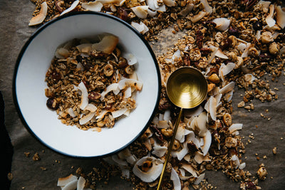 Healthy Honey Almond Granola Recipe