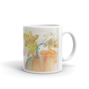 dream BIG/Pretty Pumpkin Mug