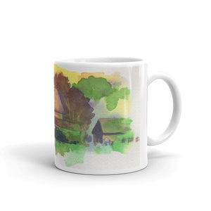 Barn at Sunset Mug