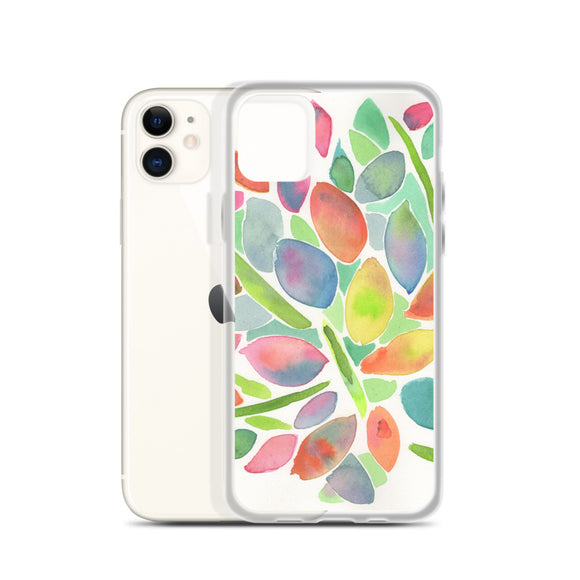 Multi Leaves iPhone Case